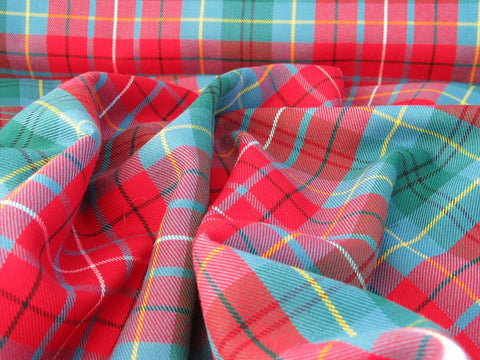 British Columbia Tartan Fabric-Taylors Tartans