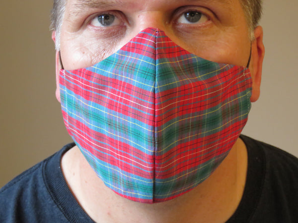 British Columbia Tartan Face Mask-Taylors Tartans