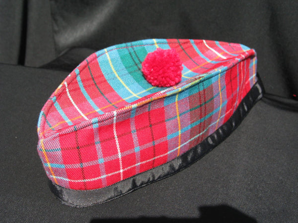 British Columbia Tartan Glengarry