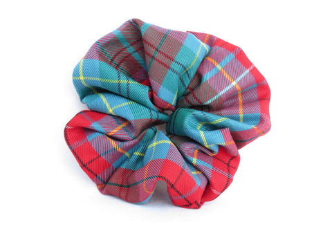 British Columbia Tartan Scrunchie-Taylors Tartans