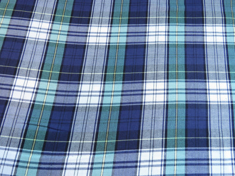 Campbell Family Plaid Fabric-Taylors Tartans