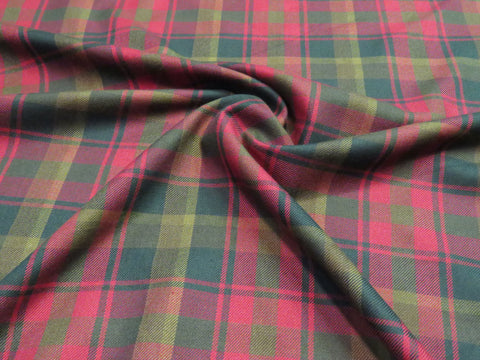 Canadian Maple Leaf Tartan Fabric-Taylors Tartans