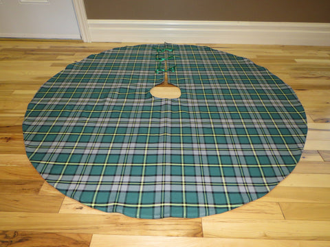 Cape Breton Tartan Christmas Tree Skirt-Taylors Tartans