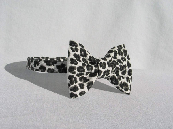 Cheetah Bow Tie Suspenders-Taylors Tartans