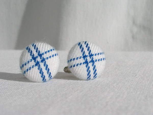 Dress Gordon Tartan Cuff Links