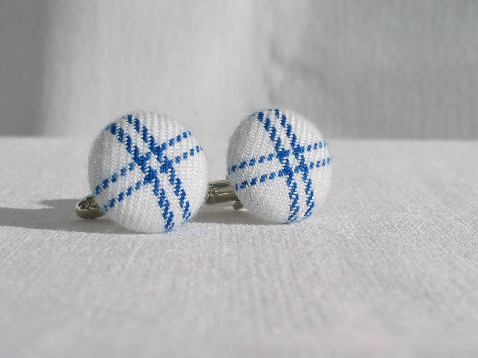 Dress Gordon Tartan Cuff Links-Taylors Tartans