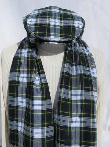 Dress Gordon Tartan Flat Cap and Scarf Set-Taylors Tartans