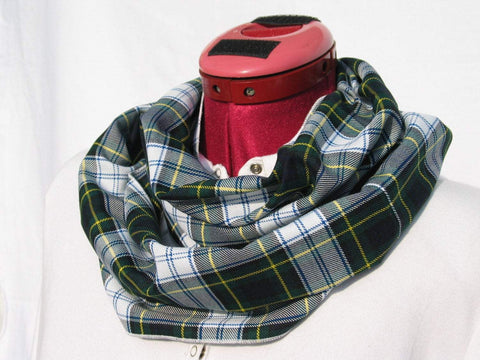Dress Gordon Tartan Infinity Scarf-Taylors Tartans
