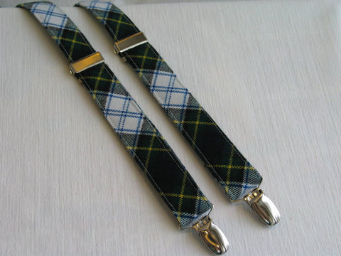 Dress Gordon Tartan Suspenders-Taylors Tartans