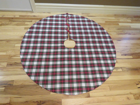 Dress Stewart Tartan Christmas Tree Skirt-Taylors Tartans