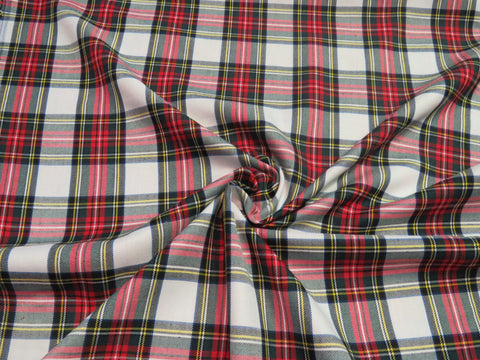 Dress Stewart Tartan Fabric-Taylors Tartans