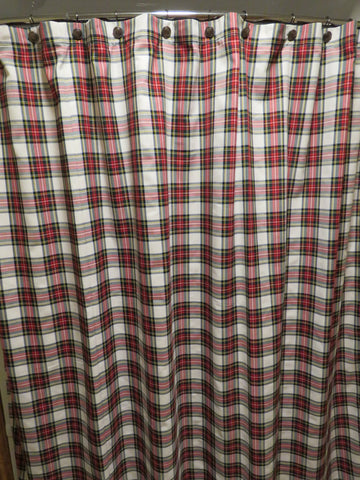 Dress Stewart Tartan Shower Curtain-Taylors Tartans
