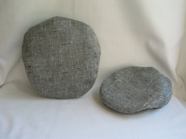 Father and Son Gray Tweed Hats-Taylors Tartans