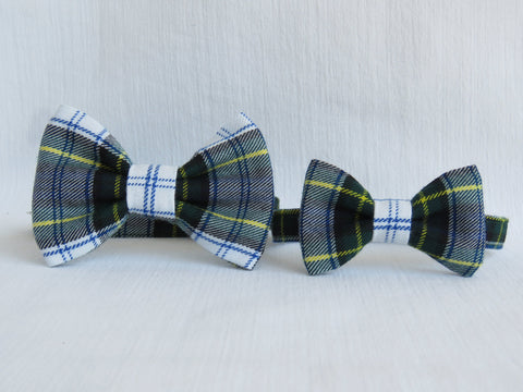 Father and Son Matching Tartan Bow Ties-Taylors Tartans