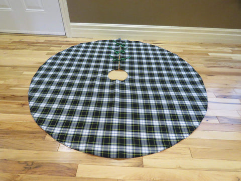 Gordon Tartan Christmas Tree Skirt-Taylors Tartans