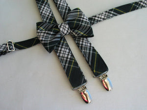 Gordon Tartan Suspenders and Bow Tie Set-Taylors Tartans