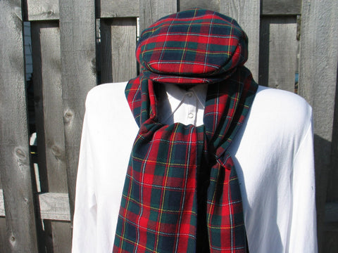 Hat and Scarf Set-Taylors Tartans