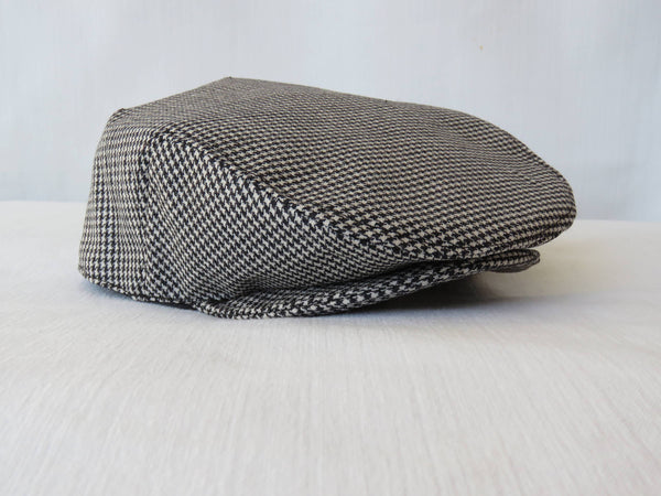 Hounds Tooth Newsboy Hat-Taylors Tartans