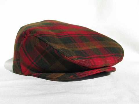 Maple Leaf Tartan Flat Cap-Taylors Tartans