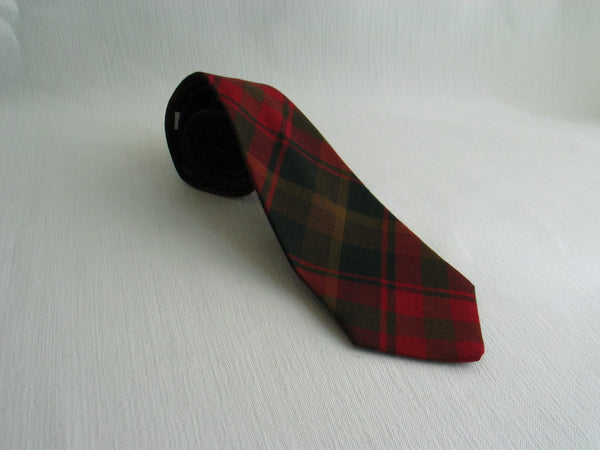 Maple Leaf Tartan Necktie-Taylors Tartans