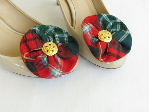 New Brunswick Tartan Shoe Clip-Taylors Tartans