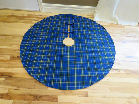 Nova Scotia Tartan Christmas Tree Skirt-Taylors Tartans