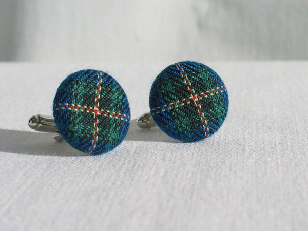 Nova Scotia Tartan Cuff Links-Taylors Tartans