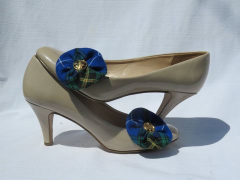 Nova Scotia Tartan Shoe Clips-Taylors Tartans