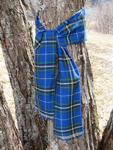 Nova Scotia Tartan Tree Wrap-Taylors Tartans