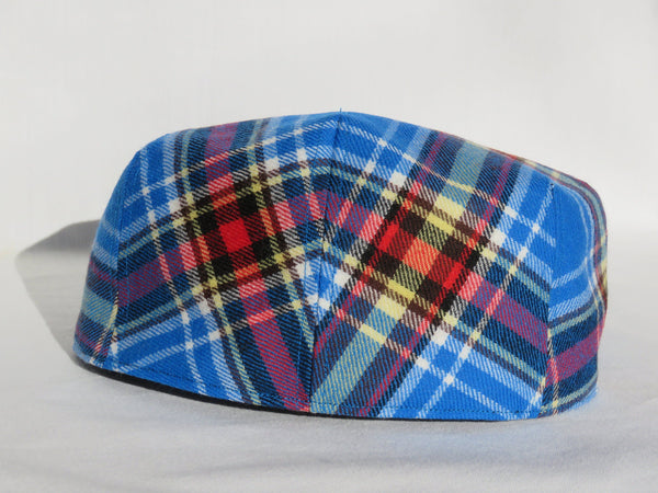 Oromocto Tartan Flat Cap Suspenders and Bow Tie