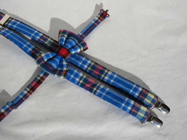Oromocto Tartan Suspenders and Bow Tie Set-Taylors Tartans