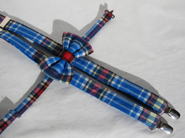 Oromocto Tartan Suspenders and Bow Tie Set