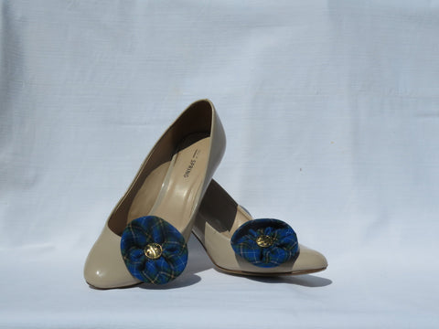 Nova Scotia Tartan Shoe Flower