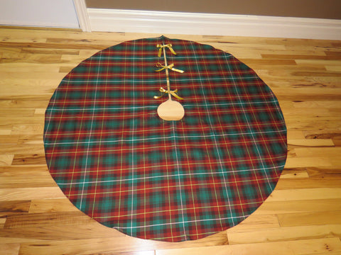 Prince Edward Island Tartan Christmas Tree Skirt-Taylors Tartans