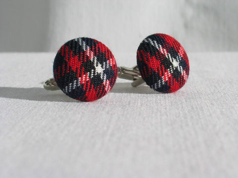 Quebec Tartan Cuff Links-Taylors Tartans