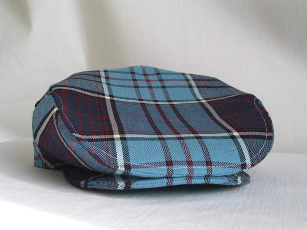 RCAF Royal Canadian Air Force Tartan Flat Cap-Taylors Tartans