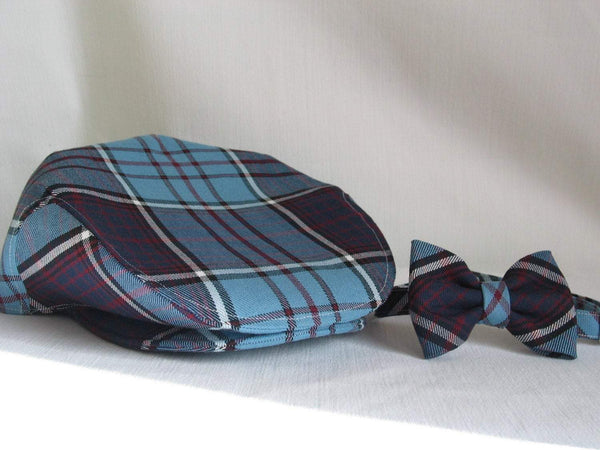 RCAF Royal Canadian Air Force Tartan Flat Cap