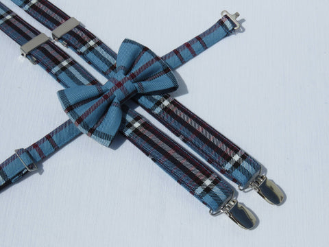 RCAF Tartan Suspenders and Bow Tie Set-Taylors Tartans
