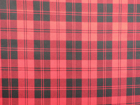Red Menzies Tartan Fabri-Taylors Tartans