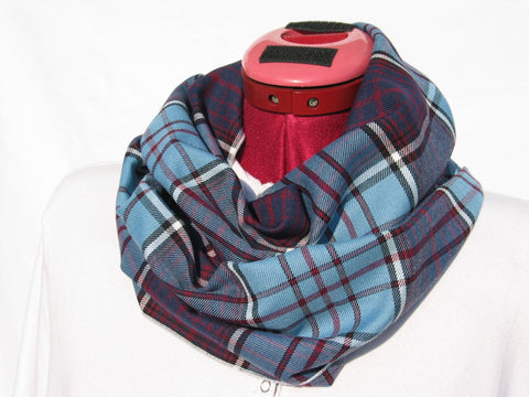 Royal Canadian Air Force Tartan Infinity Scarf-Taylors Tartans