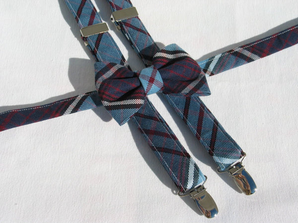 Royal Canadian Air Force Tartan Suspenders