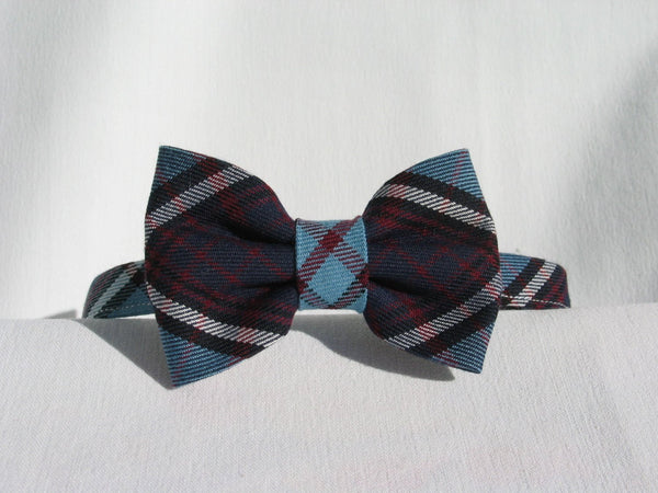 Royal Canadian Air Force Tartan Suspenders and Bow Tie Set
