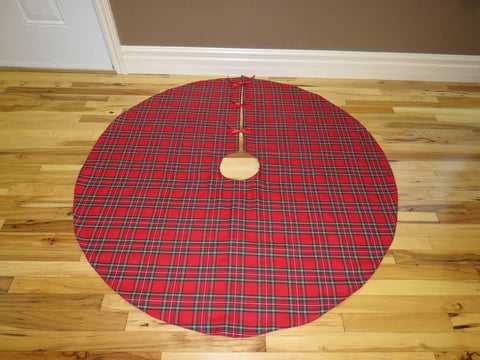 Royal Stewart Tartan Christmas Tree Skirt-Taylors Tartans