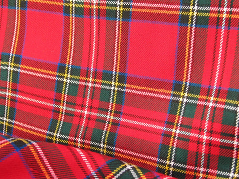 Royal Stewart Tartan Fabric-Taylors Tartans