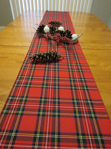 Royal Stewart Tartan Table Runner-Taylors Tartans