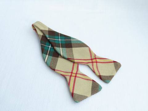 Saskatchewan Tartan Freestyle Bow Tie-Taylors Tartans