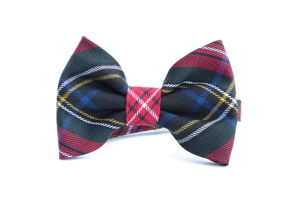 Self Tie Bow Tie in Quebec Tartan-Taylors Tartans
