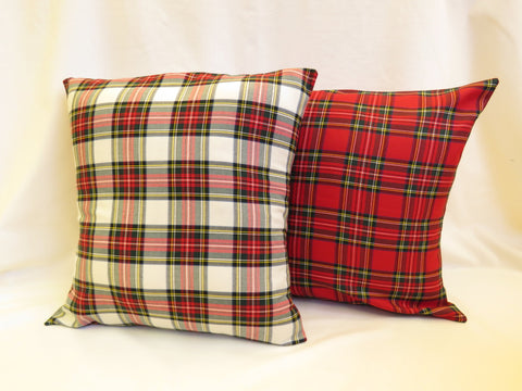 Stewart Tartan Pillow Covers-Taylors Tartans