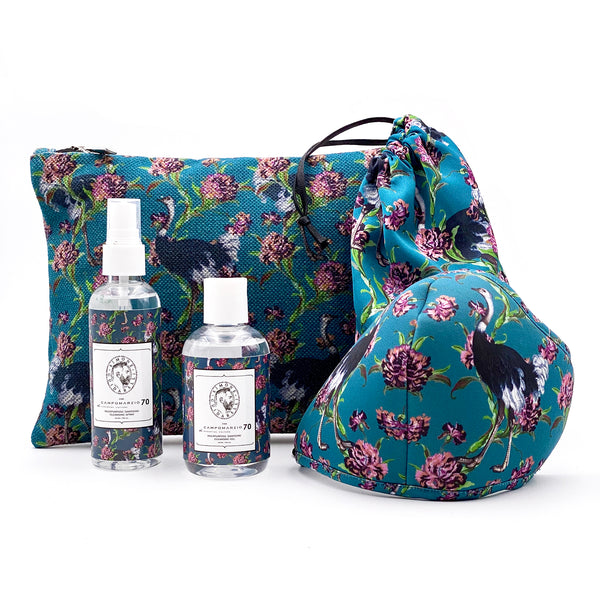 Oyster Clutch Bag Oysters with sanitizing kit and mask - Campomarzio70