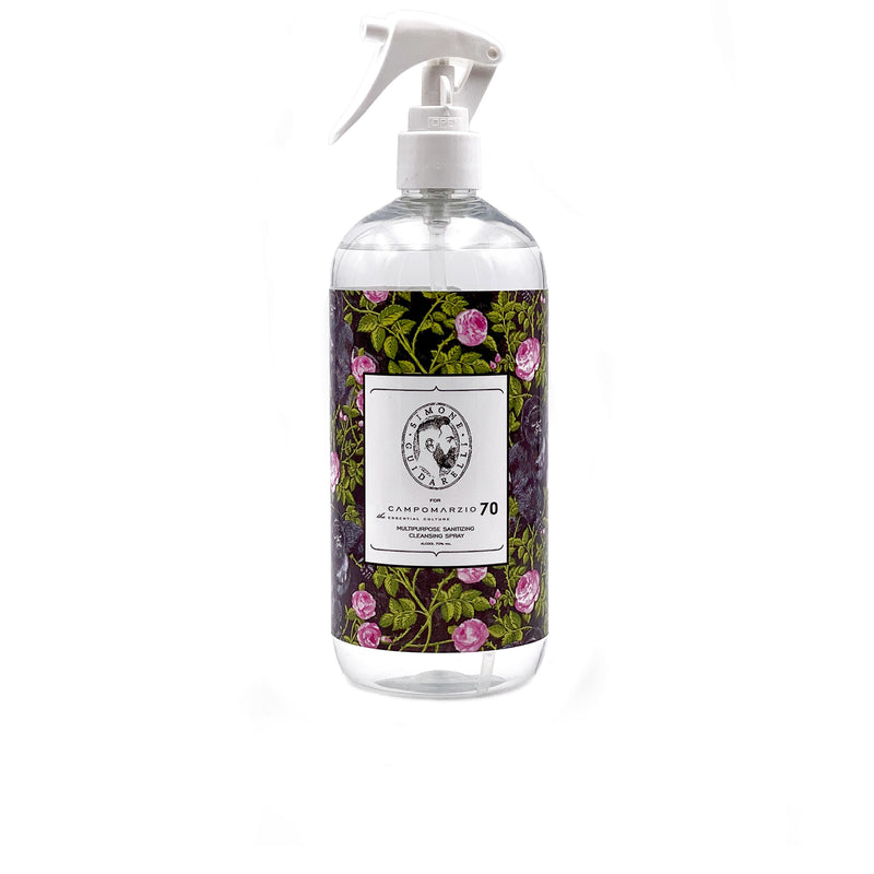 Igienizzante Spray King of Roses Black formato 500 ml - Campomarzio70